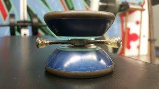 How to make a Fidget Spinner out of a YoYo.  DIY YoYo Fidget Spinner Tutorial.