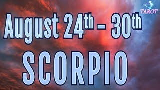 SCORPIO SOMEONE WILL CONFESS THEIR LOVE! / AUGUST 15 TO 21