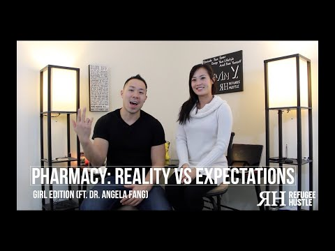 Pharmacy: Reality vs Expectations (Girl Edition) ft. Angela Fang
