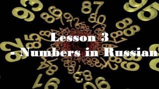 Russian Lesson 4 - numerals