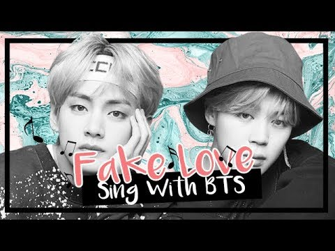 [Karaoke] BTS (방탄소년단) - Fake Love (Sing With BTS)
