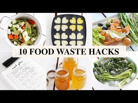 10 FOOD WASTE HACKS | Fablunch