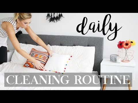 Daily Cleaning Routine - How To Make Cleaning Easy