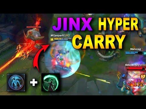 JINX HYPER CARRY! NEW GAME MODE! | League of Legends (NEXUS SIEGE GAMEPLAY)