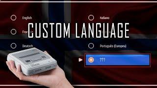 S/NESC - CUSTOM LANGUAGE | Norwegian