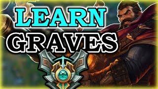 Destroy Tank Junglers - Graves Commentary Guide - League of Legends Season 7