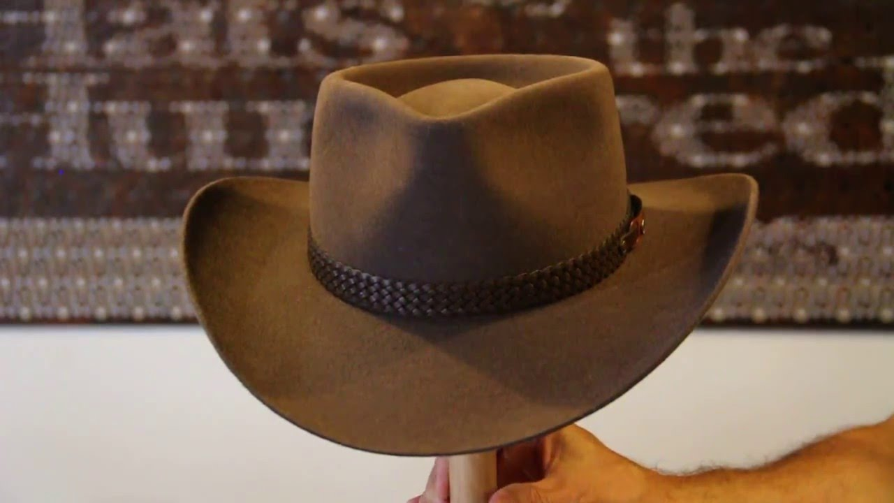 Akubra Snowy River Regency Fawn Hat- Hats By The Hundred Review - YouTube faf29cc911a