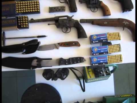 Εντοπισμός μεγάλου αριθμού όπλων,πυρομαχικών, κροτίδων και εκρηκτικών στην Αχαΐα.