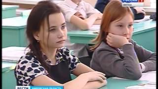 Интерактивный урок в средней школе № 65(ГТРК Вятка)
