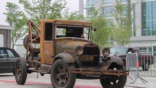 Ford Model A 1928 - Loud sound, Revs, Details,...