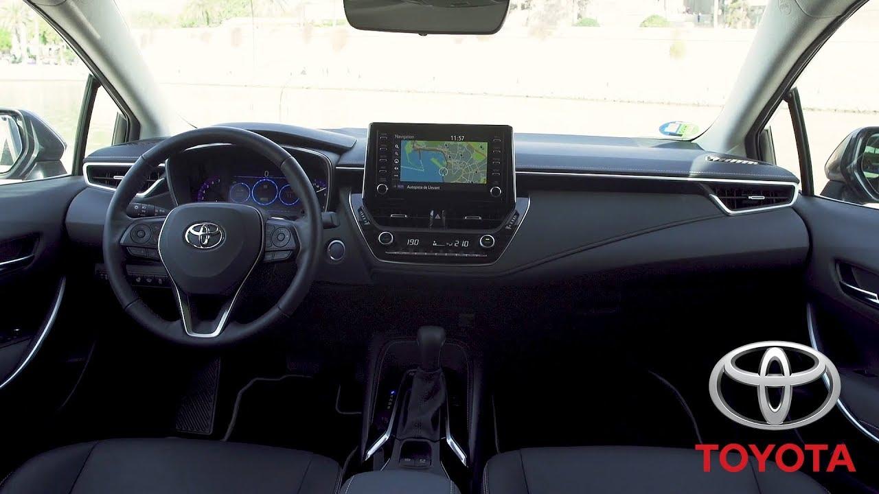 2019 toyota corolla sedan hybrid interior eu spec