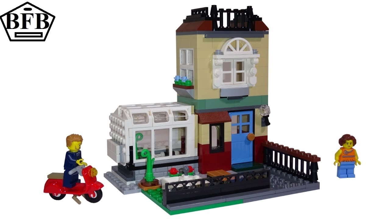 NEW Retired LEGO Creator 31065 Park Street Townhouse Building Play Set