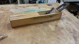 Shop Made Japanese Style Hand Plane