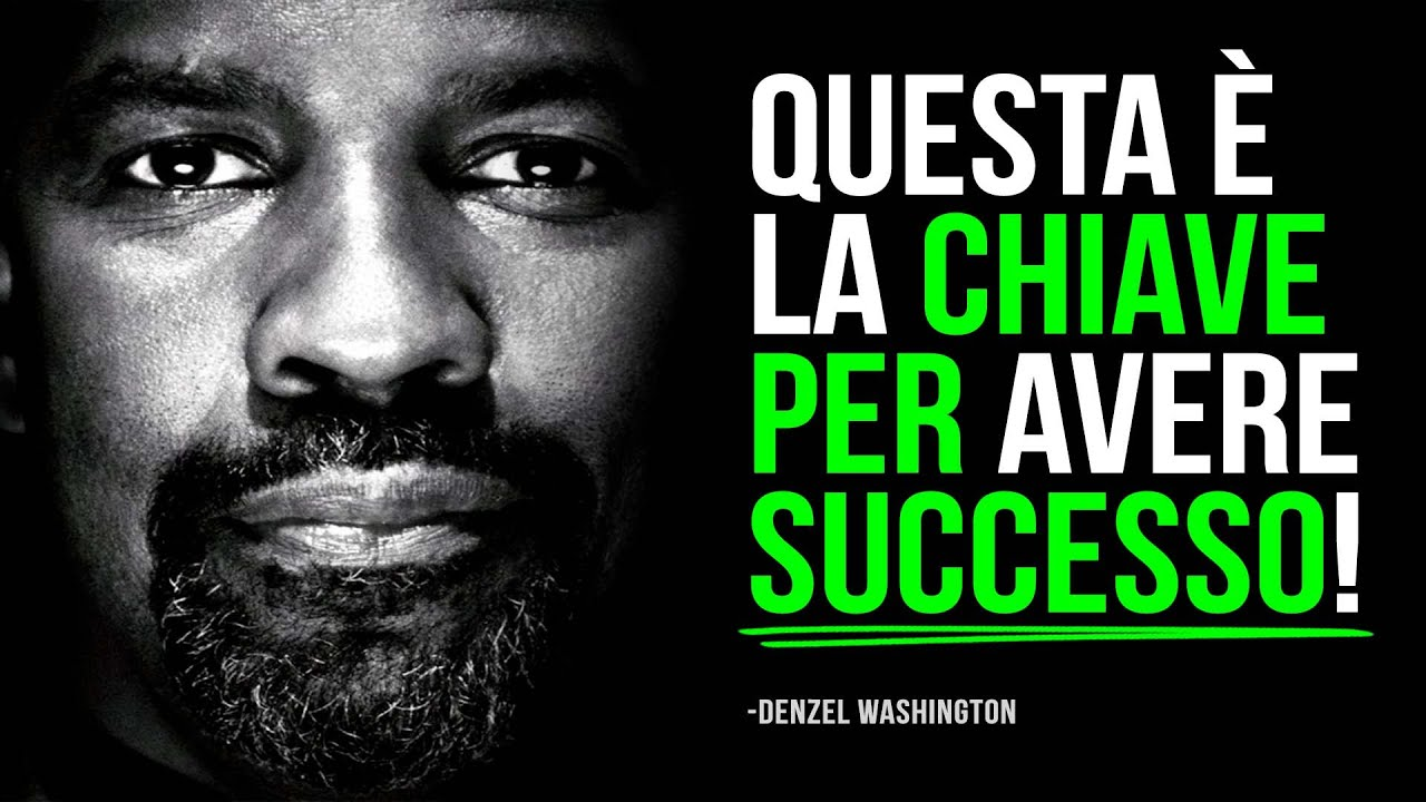 Download Il Miglior discorso motivazionale di Denzel Washington!