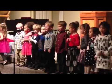 Elijah school Christmas carol