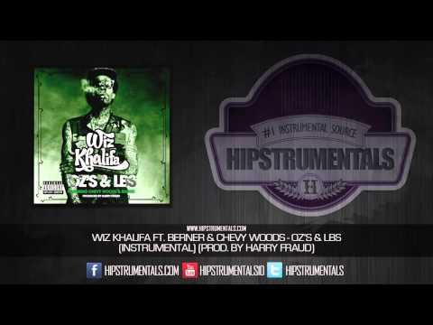 Wiz Khalifa Ft. Chevy Woods & Berner - Oz's & Lbs [Instrumental] (Prod. By Harry Fraud)