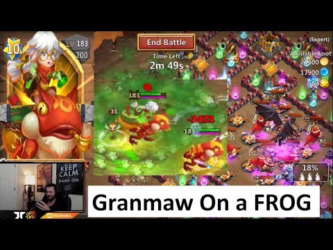New Hero Professor Ribbit Double Evolved TESTING Castle Clash