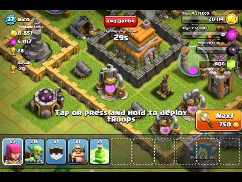 Clash of clans: Buying the barbarian king