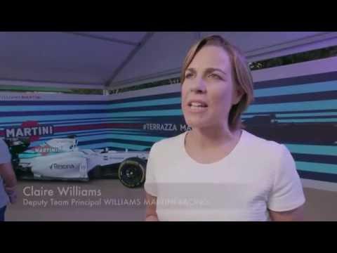 Interview with Claire Williams about Felipe Massa's retirement | AutoMotoTV