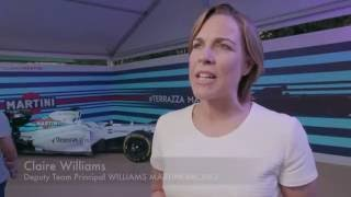 Interview with Claire Williams about Felipe Massa's retirement | AutoMotoTV