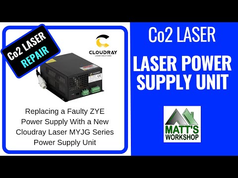Co2 Laser Repair - Laser Power Supply Replacement - CNC Co2