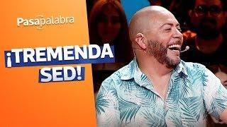 ¡QUE SED!🍻🍺 La respuesta de Alejandro Arriagada que hizo reír en Pasapalabra