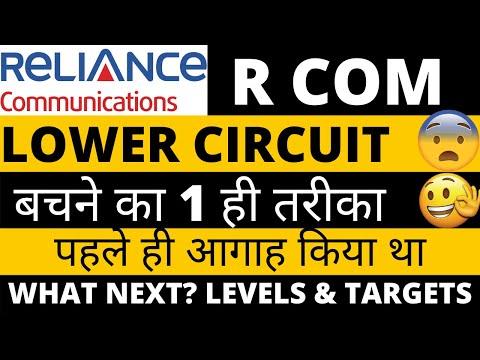 Download Reliance Communication Latest news| R Com Lower Circuit| Rcom Share News| #RcomLowercircuit #rcom