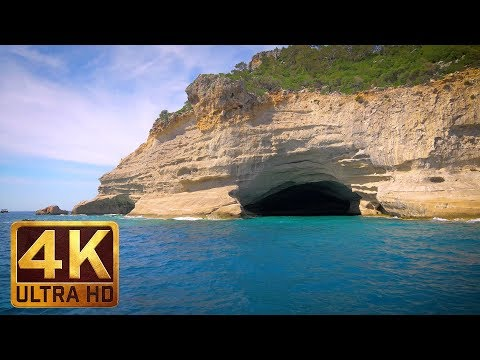 One Day in Kemer, Turkey - Around the World 4K (Ultra HD) - 1 Hour Relax Video with Music