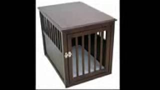 Wooden Pet Crate Table For Dog's Cat's Espresso Review