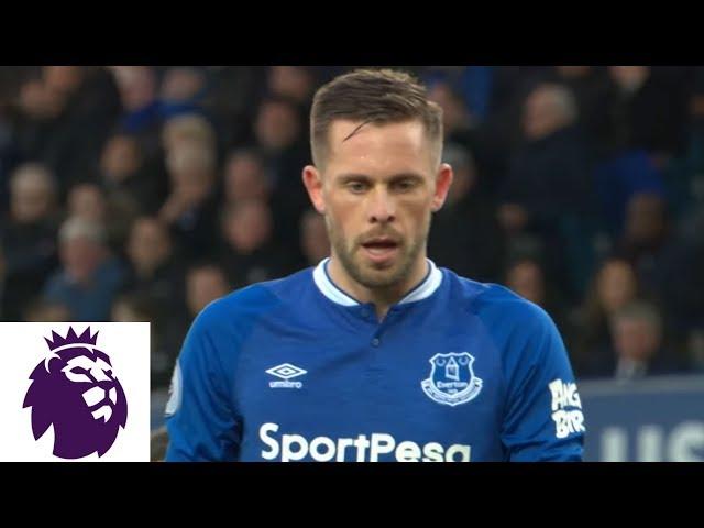 Gylfi Sigurdsson misses penalty kick, but scores rebound v. Chelsea | Premier League | NBC Sports