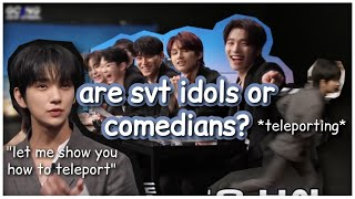 are seventeen idols or comedians? (seventeen funny moments)