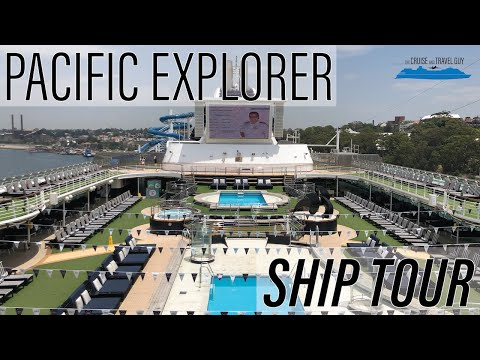 Pacific Explorer Full Ship Tour - P&O Australia