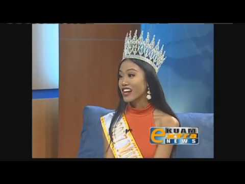 Have a chat with Miss World Guam 2017 Destiny Cruz