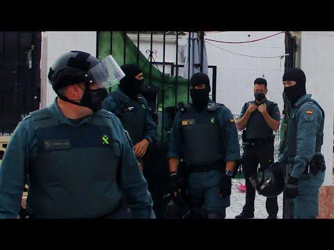 La Guardia Civil desmantela un activo punto de venta de droga en San Javier