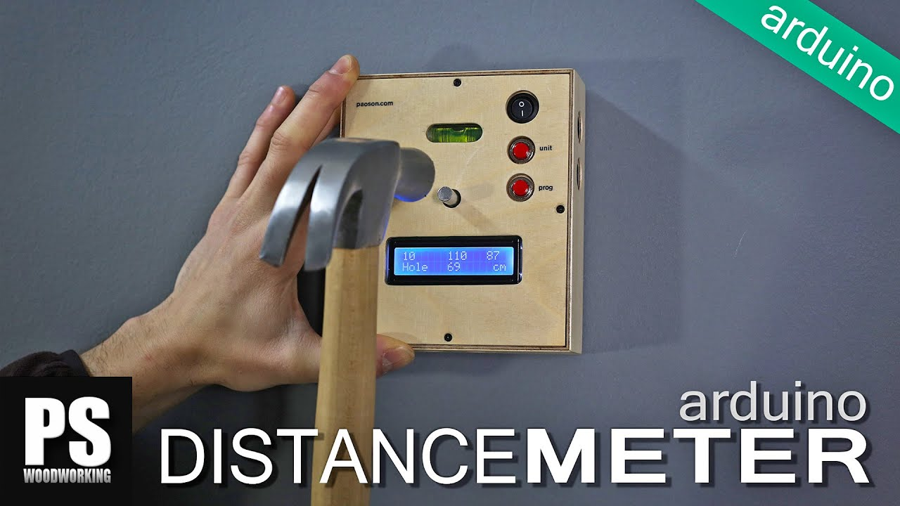 Arduino distance meter doovi