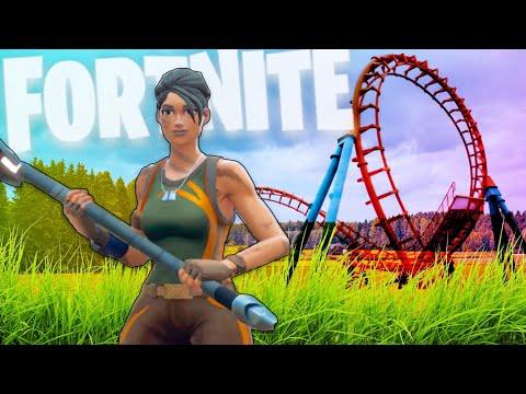 World's Biggest Rollercoast in Fortnite: Creative!