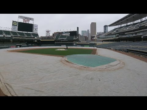How Do The Twins Get Target Field Ready For Home Opener?