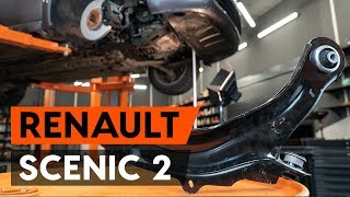 How to replace Brake caliper carrier on RENAULT SCÉNIC II (JM0/1_) - video tutorial