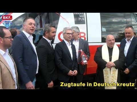 """10. 5. 2019 - Zugtaufe: Mit """"BLAUFRÄNKISCH Pur"""" Von Wien Ins Mittelburgenland - CCM-TV.at / BKF"""