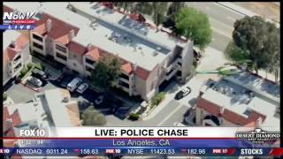 POLICE CHASE: Officers Pursue DANGEROUS Driver In Los Angeles (FNN)