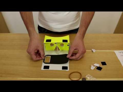 Asamblarea ochelarilor VR ABCtech - made by QuickMobile !