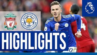 Maddison Scores At Anfield | Liverpool 2 Leicester City 1