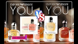 EMPORIO ARMANI Comparación De Perfumes In Love With You VS Because It S You