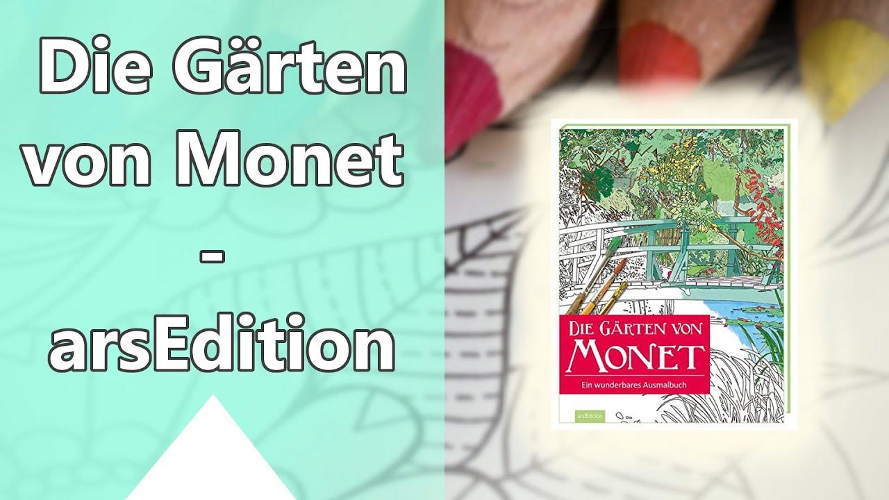Die Gärten von Monet: Ein wunderbares Ausmalbuch - arsEdition Verlag ...