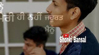 Rabba Ve (Whatsaap status) | B Praak | Jaani | High End Yaariyan | itsbansal | Shonki Bansal