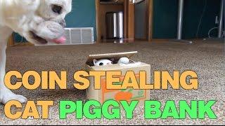 Coin Stealing Cat - Japanese Cat Piggy Bank