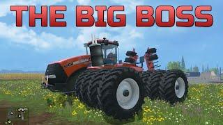 Farming Simulator 2015- Case IH Steiger 1000 The Big Boss
