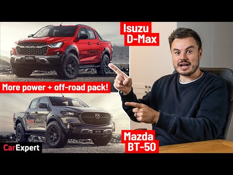 First look: 2021 Mazda BT-50 & Isuzu D-Max factory off-road kit & more power!