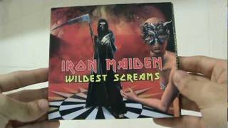 Overview / Unboxing: Iron Maiden - Wildest Screams (unofficial digipack live CD)
