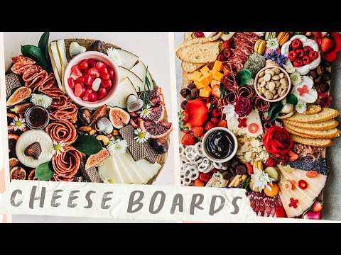 Romantic CHEESE BOARDS - $20 vs $80 Cheese Boards